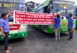 Cho xe buýt ngừng hoạt động để phản đối