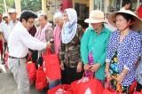 Đồng Tâm Group tặng 1.500 phần quà tết cho người dân có hoàn cảnh khó khăn