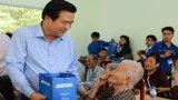Bí thư Tỉnh ủy Long An - Phạm Văn Rạnh thăm Trung tâm Bảo trợ xã hội tỉnh