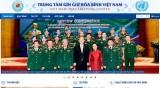 Ra mắt Trang thông tin điện tử Trung tâm gìn giữ hòa bình Việt Nam