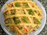 Cuối tuần rồi, làm cơm chiên Dương Châu ăn thôi!
