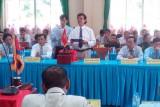 Vĩnh Hưng: Họp mặt đối ngoại mừng xuân với các huyện Vương quốc Campuchia