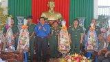 Bí thư Tỉnh ủy Phạm Văn Rạnh chúc Tết các đơn vị làm nhiệm vụ trên tuyến biên giới