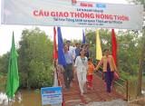 Tỉnh đoàn Long An: Khánh thành cầu giao thông nông thôn ở Thạnh Hóa