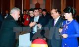 Thủ tướng Nguyễn Xuân Phúc chủ trì tiệc chiêu đãi Đoàn Ngoại giao
