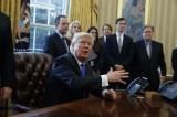 Tổng thống Mỹ Trump sắp ký sắc lệnh hành pháp về nhập cư