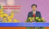 Chủ tịch UBND tỉnh Long An - Trần Văn Cần chúc mừng năm mới - Đinh Dậu 2017