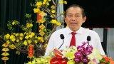 Phó Thủ tướng Thường trực Chính phủ - Trương Hòa Bình chúc tết Đảng bộ và nhân dân tỉnh Long An