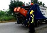 Công ty Cổ phần Đô thị Tân An ra quân thu gom rác trong dịp tết