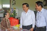 Lãnh đạo tỉnh thăm cán bộ lão thành cách mạng, đảng viên cao niên tuổi Đảng