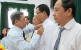 Long An: 1.149 đảng viên được tặng, truy tặng huy hiệu Đảng đợt 3/2