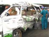 Vĩnh Long: 3 vụ tai nạn liên tiếp gây ùn tắc nghiêm trọng Quốc lộ 1A