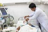 Bệnh viện Đa khoa Long An cứu sống bệnh nhân bị dao đâm xuyên hộp sọ