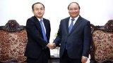 Thủ tướng Nguyễn Xuân Phúc tiếp Trưởng đại diện JETRO tại Việt Nam