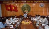 Thường trực Tỉnh ủy Long An thông qua nội dung văn kiện Đại hội Hội Nhà báo tỉnh