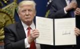 Mỹ bắt giữ hàng trăm người nhập cư sau sắc lệnh của ông Trump