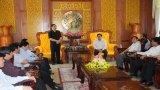 Bí thư Tỉnh ủy Long An - Phạm Văn Rạnh tiếp lãnh đạo tỉnh Hải Dương