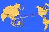 Cáp AAG lại gặp sự cố, Internet từ Việt Nam đi quốc tế bị ảnh hưởng