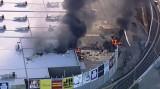Máy bay lao thẳng vào trung tâm mua sắm tại Australia và phát nổ