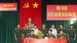 Bộ CHQS tỉnh Long An: Ký kết giao ước thi đua năm 2017