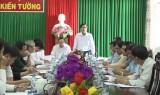 HĐND tỉnh giám sát công tác tuyển dụng, sử dụng cán bộ, công chức, viên chức tại Kiến Tường