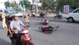 Tân An: Xảy ra vụ tai nạn giao thông trên đường Hùng Vương