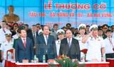 Thủ tướng Chính phủ dự lễ thượng cờ hai tàu ngầm 186 và 187