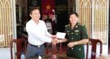 TP.Tân An: Thăm, tặng quà lực lượng vũ trang làm nhiệm vụ trên tuyến biên giới