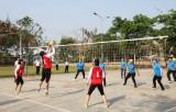 Khai mạc Giải bóng chuyền nữ ngành Giáo dục năm 2017