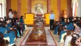 Lãnh đạo tỉnh Long An gặp mặt Đoàn đại biểu dự Đại hội đại biểu Phụ nữ toàn quốc lần thứ XII