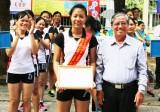 Giải bóng chuyền nữ ngành Giáo dục năm 2017: Đơn vị Cần Đước đoạt giải nhất