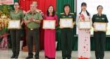 """Phụ nữ lực lượng vũ trang Long An tìm hiểu """"Tư tưởng, đạo đức, phong cách Hồ Chí Minh"""""""
