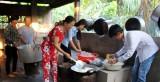 Bếp ăn từ thiện chùa Hư Không: Ấm lòng bệnh nhân nghèo