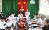 Đoàn ĐBQH tỉnh Long An giám sát về thực hiện chính sách, pháp luật đối với bộ máy hành chính cơ sở