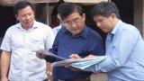 Phó Bí thư Thường trực Tỉnh ủy – Đỗ Hữu Lâm khảo sát tiến độ thực hiện các công trình trọng điểm tại huyện Đức Hòa