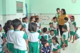Đức Hòa: Trường Mẫu giáo Lộc Giang đạt 5 tiêu chuẩn Quốc gia mức độ 1