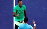 Ngộ độc thực phẩm, Kyrgios bỏ cuộc trước Federer