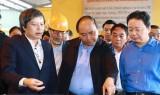 """Thủ tướng khảo sát công nghệ điện-rác """"made in Việt Nam"""" ở Hà Nam"""