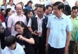 """Nguyên Chủ tịch nước Trương Tấn Sang và phu nhân tham dự chương trình từ thiện """"Xuân gieo phước"""""""