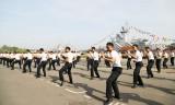 Vào mùa huấn luyện mới ở Lữ đoàn Tàu tên lửa