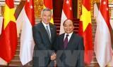 Làm sâu sắc hơn quan hệ Đối tác chiến lược Việt Nam-Singapore