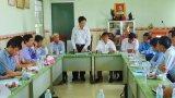 Ban Kinh tế Trung ương khảo sát Hợp tác xã Thanh long Tầm Vu