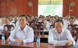 Bến Lức: Sơ kết việc thực hiện Chỉ thị 05 của Bộ Chính trị