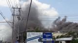 3 tỉnh tiếp ứng Cần Thơ dập đám cháy lớn ở Trà Nóc