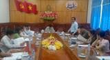 Thường trực Tỉnh ủy Long An: Giao ban với Mặt trận và các đoàn thể tỉnh