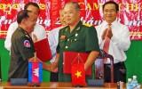 Ký kết hợp tác giữa Hội Cựu chiến binh Long An với Hội Cựu chiến binh Svay Rieng