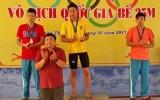 Ngày thi đấu thứ tư giải bơi - lặn vô địch quốc gia bể 25m của đoàn Long An