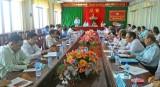 UB.MTTQ Việt Nam tỉnh Long An giao ban quí I/2017 cụm thi đua số 1