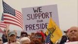 Bạo lực bùng phát tại cuộc tuần hành ủng hộ Tổng thống Mỹ Trump