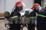 Bắt đầu khám nghiệm hiện trường vụ cháy lớn tại Cần Thơ